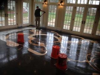 Marble Epoxy Flooring | Coatesville Pennsylvania | Kleencrete Overlay Solutions