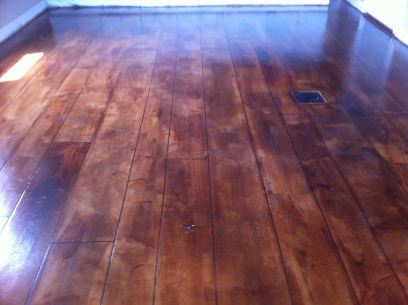 Rustic Concrete Wood | Honey Brook Pennsylvania | Kleencrete Overlay Solutions